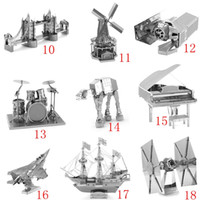 Wholesale 3D Puzzle For Adult Adult Kids Kindergarten Educational Diy Toys Gift Star Wars Metal Puzzle DIY Model Puzzle