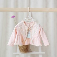 baby swing pink - Idea Autumn New Babies Clothes Girl Sweaters Beading Collar Cardigan Wrap Swing Y