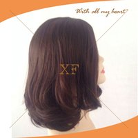 america human hair wig - lace front wig natural virgin brazilian human hair jewish wigs hot sale in Canada and America