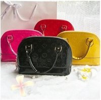 brand bags handbags - Brand New Girl Shell Bags Hot Sale Korean PU Leather Handbags Girls Sweet Princess Bags Children Shoulder Bags