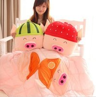 Cheap McDull pig cute Cushions Best Multifunctional pillow