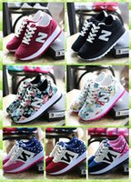 Wholesale 7 style choice Balance casual sport shoes women sneaker shoes running jogging shoes size