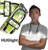 Wholesale LED Reading Book Lights Flexible Neck Light Huglight Handsfree Multi functional Hug Light Flashlight Indoor Lighting Factory Price Fedex