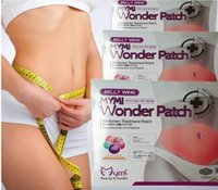 Wholesale 5pcs pack MYMI Wonder Slim patch slimming belly lose weight Abdomen fat burning patch by dhl