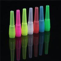 Soulton verre en gros 100pcs / Poly sac Shisha Bouche Conseils plastique coloré jetables cachés Bouche Conseils DHL Livraison gratuite MT-002