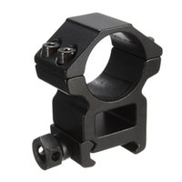 Wholesale 2pcs mm High Black Profile Scope Torch Rings mm Picatinny Weaver Rail Mount for Flashlight order lt no track