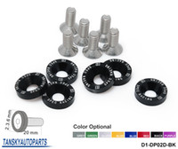 Wholesale D1Spec SET Fender M8x JDM Style Bolt Washer Screws Racing Aluminum Bumper Kit D1 DP02D FS