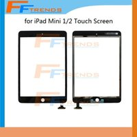 apple ipad dropshipping - 100 Tested White Black For iPad mini Glass Touch Screen Digitizer Touch Panel High Quality Dropshipping Free Ship