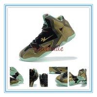 parachute fabric - 2015 Release Lebron XI Kings Pride Men Sneaker Sports Shoe Men s Basketball Shoes Parachute Gold Arctic Green Dark Loden Black