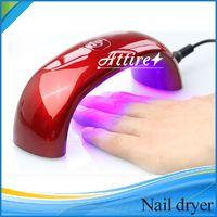 Nail Fashion prego secador de UV Art secador de unhas profissional com cabo USB 9W unha lâmpada máquina arte PK diamante