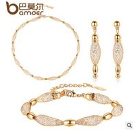 Cheap Bracelet,Earrings & Necklace party jewelry sets Best European and American Style Women's statement
