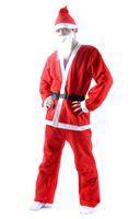 Wholesale Santa disposable clothing men s clothing five sets of Christmas