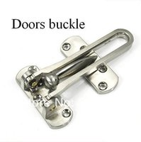 Wholesale Alloy Door Guard Anti Hotlinking Safety Chain Locks Doors Buckle