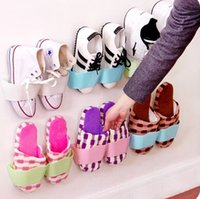 Wholesale Three dimensional Wall Shoe Rack wall hanging shoe rack and retail
