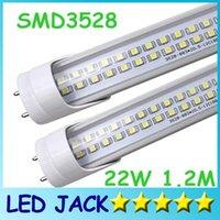 Wholesale 50pcs SMD W LED tube light fluorescent lamp T8 G13 V lm MM feet ft tubes warm cold white