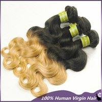 Cheap Ombre Virgin Hair Best Two Tone