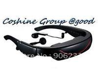 Wholesale Brand IVS quot Virtual Eyewear Stereo LCD Video Glasses AV IN OUT TV Game PSP g
