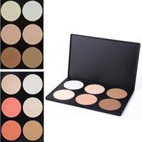 Wholesale 2 Designs Palette Colors Makeup Contour Face Eye Powder Foundation Face Powder Makeup Blush Palette