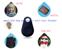 Wholesale iTag pet dog Locator tracker smart key finder bluetooth anti lost alarm bag wallet selfie for iphone for Samsung Android Smart Control