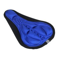 Wholesale Comfortable Cycling Bike D Silicone Gel Breathable Saddle Pad Bicycles Seat Cover Mat Soft Cushion Colros Top Quality CY0716