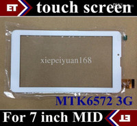 Wholesale DHL inch original Touch Screen with Glass Digitizer for inch G Phone Call Tablet PC MTK6572 Dual Core TC11