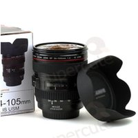 plastic cup beer - 2015 New Caniam SLR Camera Lens Cup mm Scale Plastic Milk Beer Coffee Tea Cup Mug ML Creative Cups and Mugs