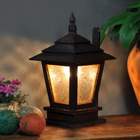 asian style homes - Thai specialties Southeast Asian style wood home decorative garden lights club fitting glass table lamp wall lamp