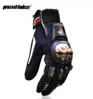 Wholesale 2014 newest alloy stainless steel off road motorcycle racing gloves motorcycle gloves full finger Knights slip drop resistance