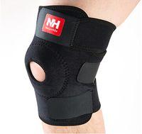 Wholesale 2Pcs Outdoor Sports Kneepad Basketball Knee Protector Guard Pad Support Strap Hiking Climbing Cycling Kneecap