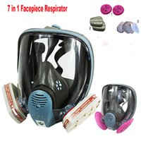 3m respirator - 2015 New in Suit Painting Spraying For M Gas Mask Full Face Facepiece Respirator