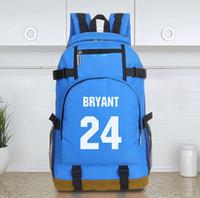 Wholesale new Kobe Bryant basketball sports bag shoulder bag five colors mochila bag backpack large capacity