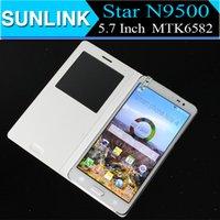 Wholesale Xmas Christmas Gift Star N9500 Smartphone Note4 N9100 Inch HD MTK6582 Quad Core Android Ram GB Rom GB Gesture Sensing