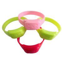 Wholesale Anti mosquito Silicone Mosquito repellent Bracelet Mosquito insect bracelet silicone writstband multi color