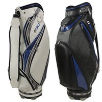 Wholesale 2015 Hot G30 golf bags Mens PU golf bag high quality AAA black white Ems ship