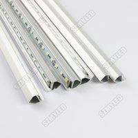 Wholesale LED Bar Rigid Strip Light Home Cabinet lamp Tiras LED v leds V Aluminium Profile CE RoHS