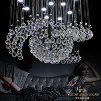 atmosphere wedges - 85 v Led crystal LAMP kitchen dining bar lighting suspension wire bedroom lamps and lanterns A special offer on fashion atmosphere