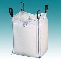 Wholesale PP jumbo bag container bag big bag bulk bag cross corner loop customized