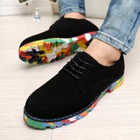Cheap Breathable Tide Popular British Fashion Casual Sneakers Peas Colored Bottom Shoes Family Student Comfortable Shoes Summer Spring