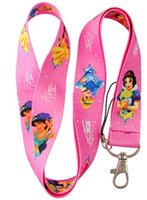 belle phones - Free shiping The Princess Cinderella Belle lanyard Mobile Phone Straps Free shiping