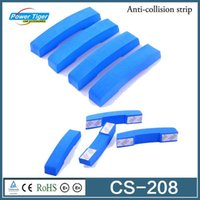 Wholesale 4pcs Car Door Universal Anti collision Anti Rub PEVA Clamp Car Accessories Car Crash Bar Door Bumper strip CS