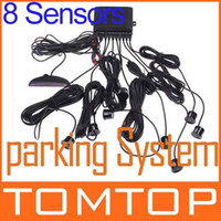 Wholesale 8 Sensors Car LED Display Kit Reversing Parking Radar Buzzer System