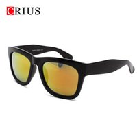 Others Others Others Wholesale-D Women's sunglasses for men woman color film retro frame sun glasses brand vintage band Mirror cheap Wholesale 2016 new