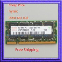 Cheap omputer Components RAMs Cheap Price!! Hynix 2GB PC2-5300 DDR2-667 667Mhz 200pin SO-DIMM Laptop Memory ddr2 667 200-PIN Notebook sodimm RA...