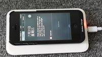 Cargador inalámbrico de carga de la batería del transmisor receptor portátil Fuente de alimentación para Samsung S3 S4 S5 Iphone 5S 6S Nokia