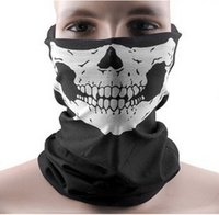 Wholesale Skull Design Multi Function Bandana Ski Outdoor Sport Motorcycle Biker Scarf Face Mask CS Cosplay Skull Magic Scarf