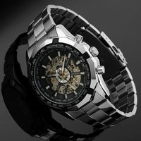 high end watches - Wristwatch selling in Europe and America Hollow and transparent Men automatic mechanical watches High end business watch SB041
