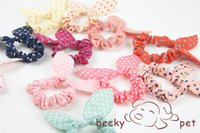 Wholesale rubber band Dog Hair pet hair circle puppies pet dogs rubber band Pet Accessories