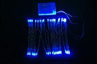 2m 20 cuerda del LED MINI luces de HADAS BATERÍA energía OPERADA Blanco / blanco caliente / azul / rojo / amarillo / verde / color de rosa / Purply / multi-color 3XAA Batería