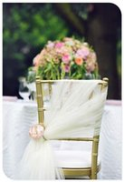 beach chair wholesale - Wedding Supplies Party Chair Cover Beach Romantic Sash Decorations Custom Made
