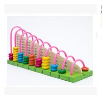 abacus mathematics - Sunray abacus calculation frame children wooden frame bead toys baby arithmetic mathematics teaching aid